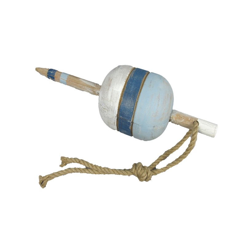 Wooden Buoy w/ Rope