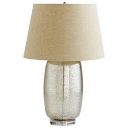 Golden Crackle Table Lamp