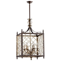 Oxide Iron Pendant Light
