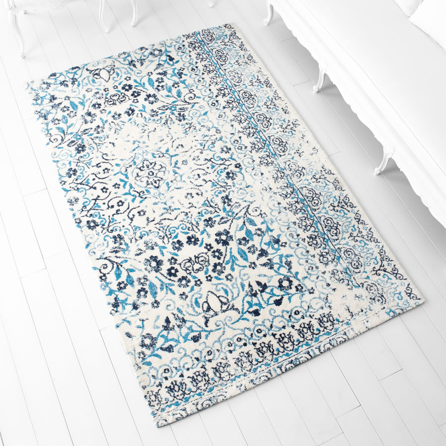 Large Toungoo Blue Rug
