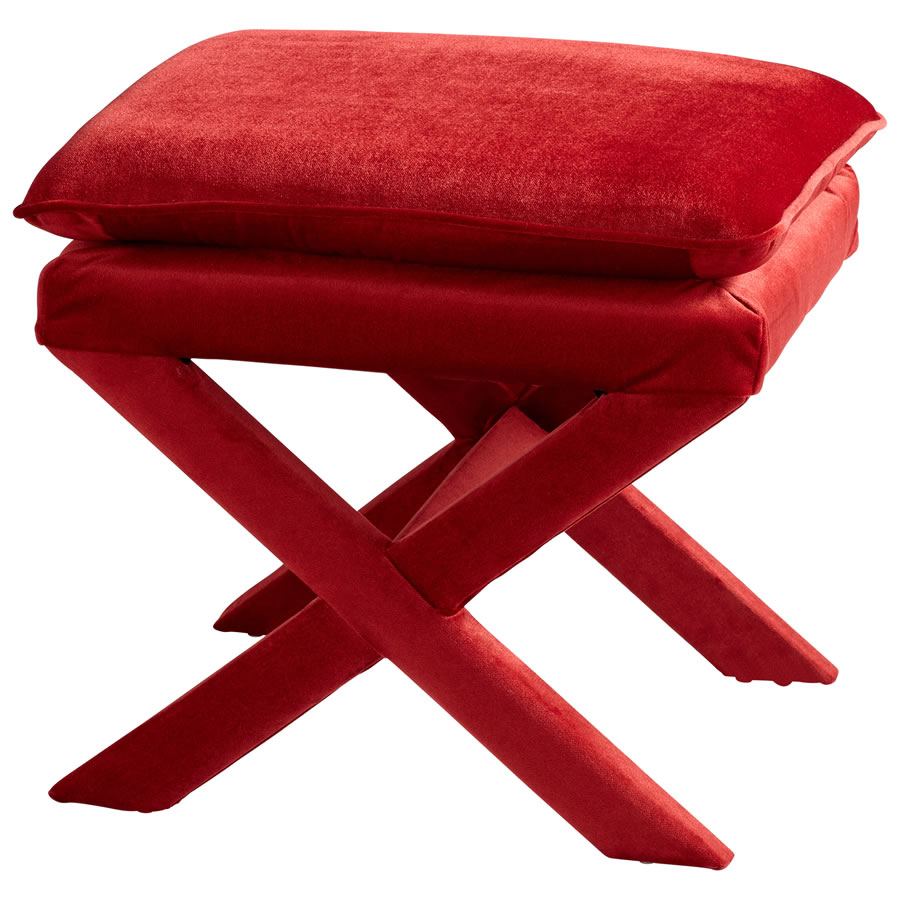 Red Otto Stool