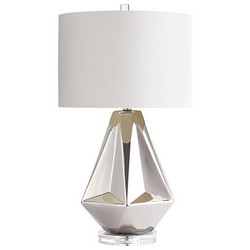 Chrome Sailboat Lamp