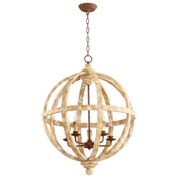 Ashfield's Plaster Pendant Light