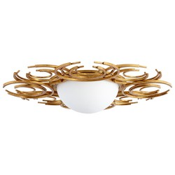 Gold Ceiling Mount Light