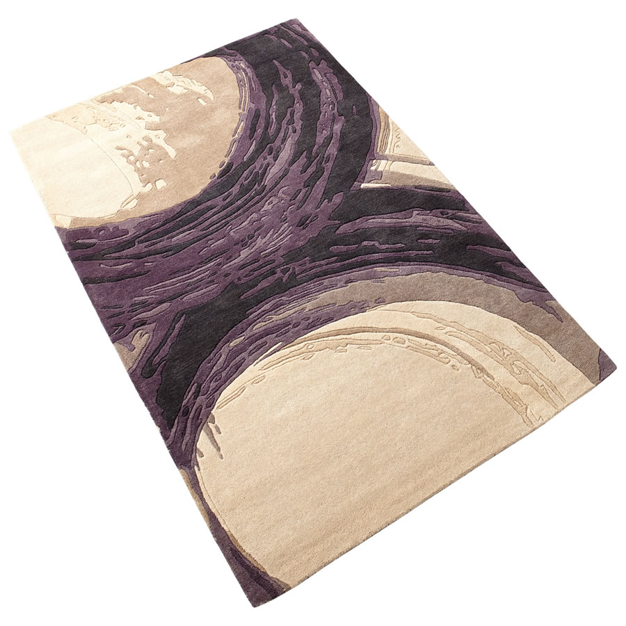Large Purple Percival Rug