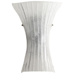 Clear Glass Wall Sconce