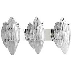 Chrome Vanity Light