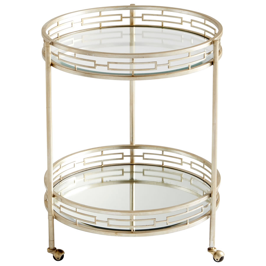 Gilded Meridian Bar Cart