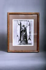 Framed Woman with Tarpon Picture
