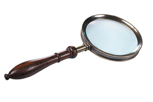 Regency Magnifying Glass