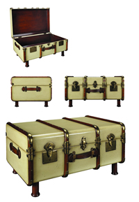 Ivory Stateroom Trunk/Table