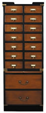Collectors Cabinet, Drawers
