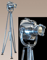 Polished Aluminum Cinema Light