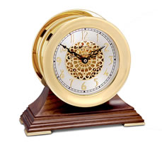 Chelsea Centennial Clock in Brass