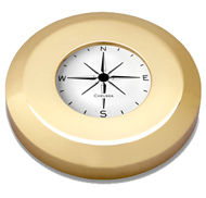 Chelsea Chart Weight Compass in Brass