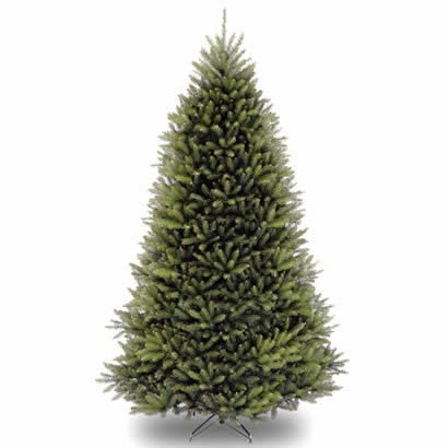 10 Ft. Dunhill Fir Hinged Christmas Tree