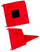 Hurricane & Gale Warning Storm Signal Flags