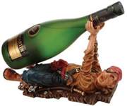 One Eye Pirate Wine Bottle Holder