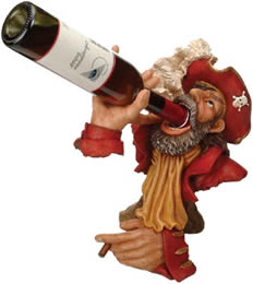 Red Coat Captain Wine Bottle Holder