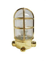 Brass Oceanic Lamp
