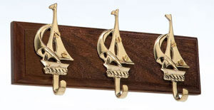 Brass Sailboats Hanger