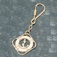 Set of Two Life Ring Keychains