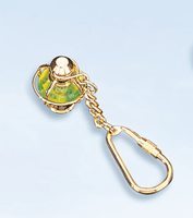 Set of Two Lantern Keychains