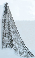 Authentic Dark & Thick Fish Net