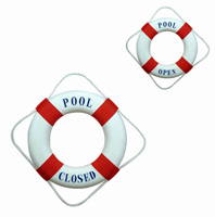 Pool Open/Closed Life Ring