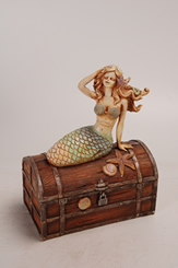 Mermaid on Treasure Chest
