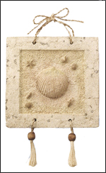 Clam Shell Wall Plaque
