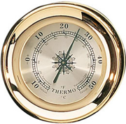 Brass Captain's Thermometer