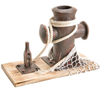 Wooden Cleat Pen Holder