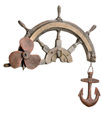 Ship Wheel/Anchor/Propeller Hanger