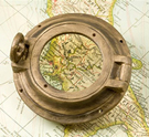 Porthole Magnifying Glass