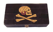 Pirate Henry Every Scrimshaw Horn Box