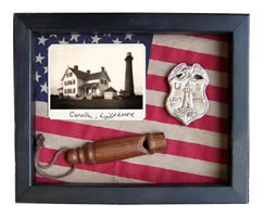 Corolla Lighthouse Shadow Box