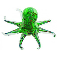 Glass Octopus Sculpture/Paperweight