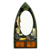 Rowboat Display Mirror