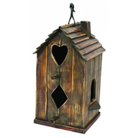 Wood Birdhouse