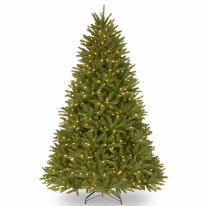 7.5 Ft. Feel-Real Belmar Fir Christmas Tree with 750 Clear Lights