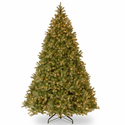9 Ft. Feel-Real Douglas Fir Christmas Tree with 900 Clear Lights