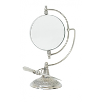 Pewter Magnifying Glass on Stand w/ Letter Opener