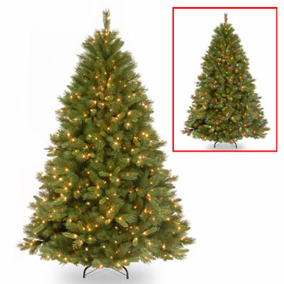 7 1/2 Ft. Winchester Pine Christmas Tree with 500 Dual LED Lights