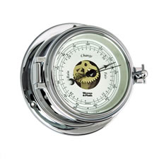 Endurance II 105 Chrome Open Dial Barometer
