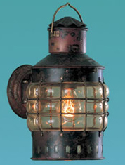 Weems & Plath Copper Wall Anchor Lantern