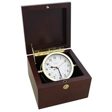 Brass Box Alarm Clock