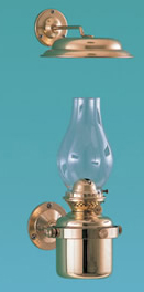 Weems & Plath Gimbal Oil Lamp w/ Smoke Bell