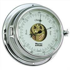 Endurance II 135 Chrome Open Dial Barometer