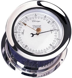 Weems & Plath Chrome Atlantis Barometer